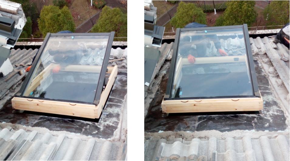 湖北阁楼天窗固定