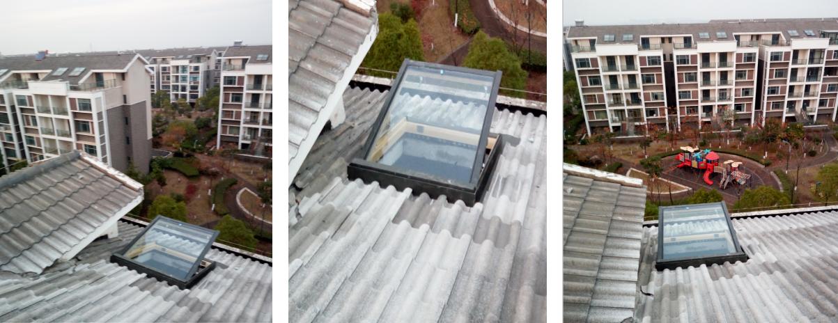 湖北阁楼天窗安装完成