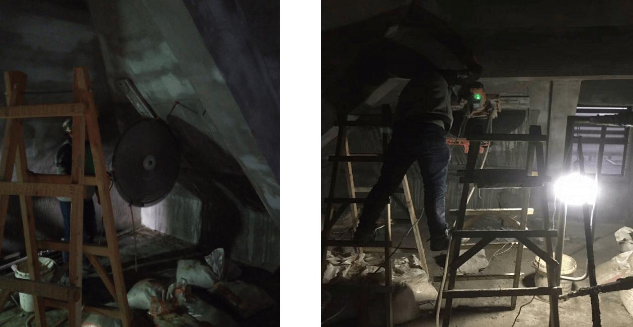 武汉阁楼天窗安装过程1