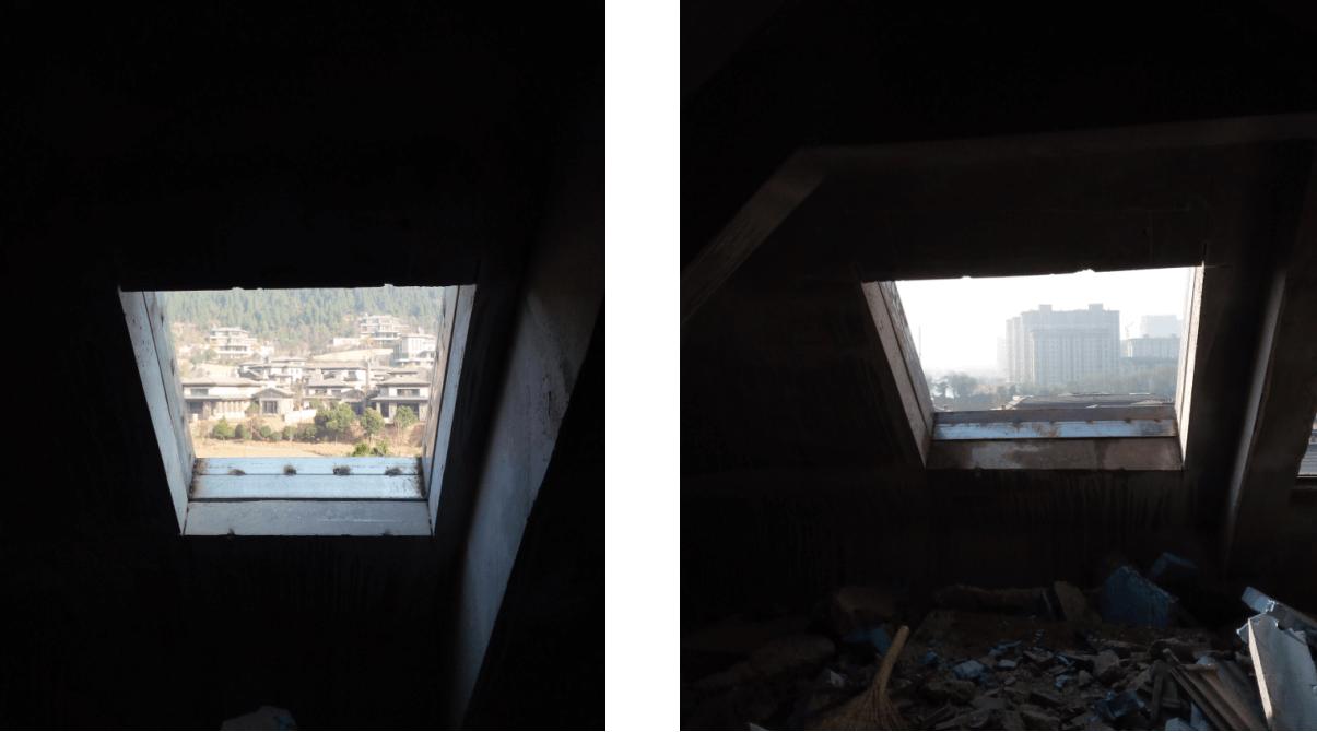 武汉阁楼天窗安装过程3