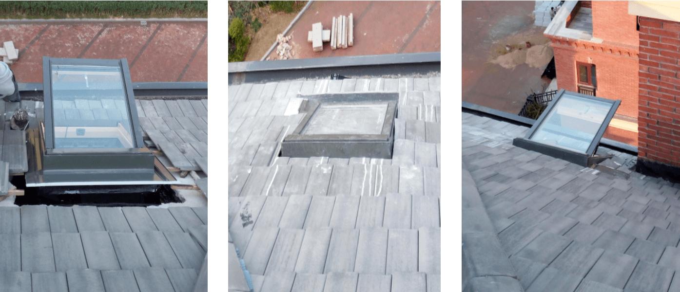 武汉阁楼天窗安装过程6